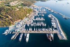 Marina of Portisco, Sardinia, Italy Stock Image