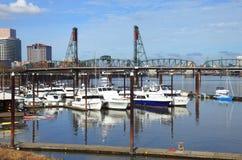 Marina, Portland OR. Stock Photos