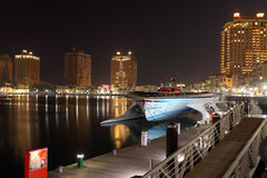 Marina of Porto Arabia, Doha Qatar Royalty Free Stock Image