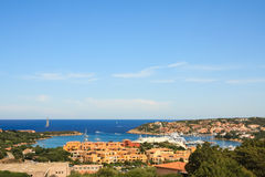 The marina of Porto Cervo, Sardegna Stock Photo