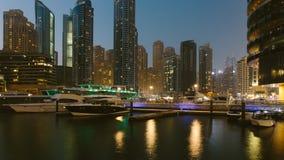 Marina Promenade in Dubai-Stadt, UAE lizenzfreies stockbild