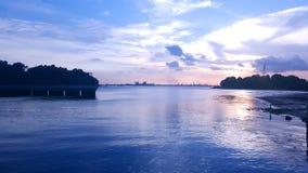Marina przy Keppel zatoki wyspą Fotografia Royalty Free