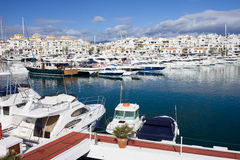 Marina in Puerto Banus Royalty Free Stock Images