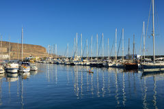 Marina Puerto de Mogan royalty-vrije stock fotografie