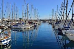 Marina Puerto de Mogan royalty-vrije stock afbeelding