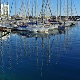 Marina Puerto de Mogan, Spanje royalty-vrije stock fotografie