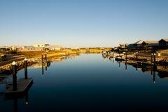 Marina Quays fotografia stock