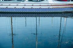Marina Reflection Stock Images