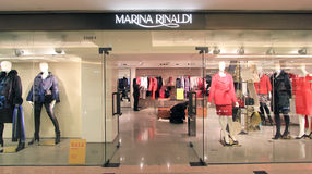 Marina Rinaldi shop in Hong Kong Royalty Free Stock Photography