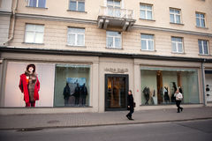 Marina Rinaldi store in Vilnius, Lithuania Royalty Free Stock Photography