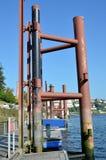 Marina on river Douro Stock Image