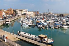 Ramsgate, Kent, UK marina. The marina of the Royal Harbour of Ramsgate, Kent, UK. The town has one of the largest marinas on the English  south coast. It  was Stock Image