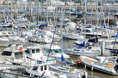 Marina at Royan, France Royalty Free Stock Image