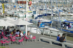 Marina in Royan, France Stock Photography