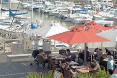 Marina in Royan, France Stock Image