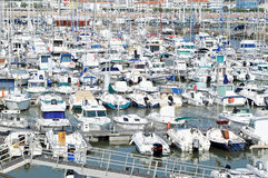 Marina in Royan, France Stock Photo