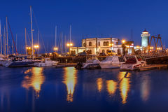 Marina Rubicon, Lanzarote, Spain Royalty Free Stock Photo