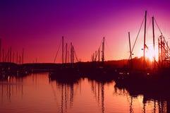 marina słońca Zdjęcie Stock