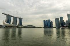 The Marina Sands Bay Stock Photos