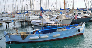 Marina at sanremo, Italy Stock Photo
