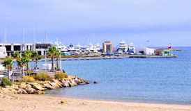 Marina at sanremo, Italy Royalty Free Stock Photo