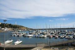 Marina Santa Maria Di Leuca, Włochy - zdjęcia royalty free