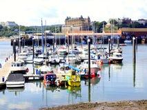 Marina, Scarborough, North Yorkshire. Stock Photography