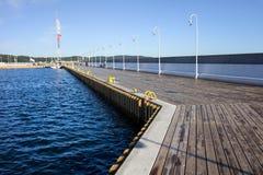 Marina Sea Pier Stock Photography