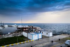 Pendik Marina And Sea Transportation - Turkey Royalty Free Stock Image