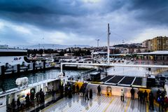 Pendik Marina And Sea Transportation - Turkey Royalty Free Stock Photos