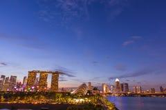 marina Singapore bay zdjęcie royalty free