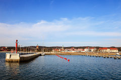 Marina in Sopot Stock Images