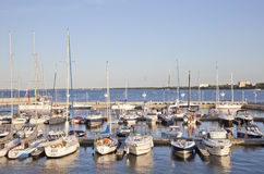 Marina in Sopot, Poland Stock Photos