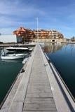 Marina in Sotogrande, Spain Stock Photos