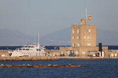 Marina in Sotogrande, Spain Stock Images