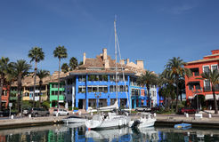 Marina in Sotogrande, Spain. Marina in Sotogrande, Costa del Sol, Andalusia, Spain Stock Photography