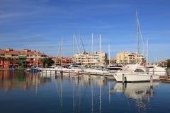 Marina in Sotogrande, Spain Royalty Free Stock Photo