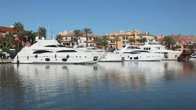 Marina in Sotogrande, Spain Stock Photo