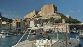 Marina in the South of France stock video footage