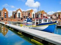 Marina souveraine de port, Eastbourne Images stock