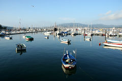 Marina in spain Stock Photography