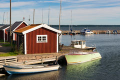 Marina in Sweden Royalty Free Stock Image