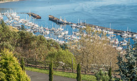 Marina In Tacoma Royalty Free Stock Image