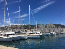 Marina in Toulon, France Royalty Free Stock Photo