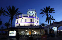 Marina tower in Estepona, Spain Royalty Free Stock Photography