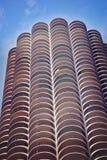 Marina Tower il giorno soleggiato in Chicago, Illinois Immagini Stock Libere da Diritti