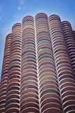 Marina Tower on sunny day in  Chicago, Illinois. Royalty Free Stock Images