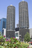 Marina Towers Stock Image