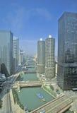 Marina Towers Apartments, Chicago, Illinois Stock Images
