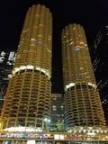 Marina Towers, Chicago lizenzfreies stockbild